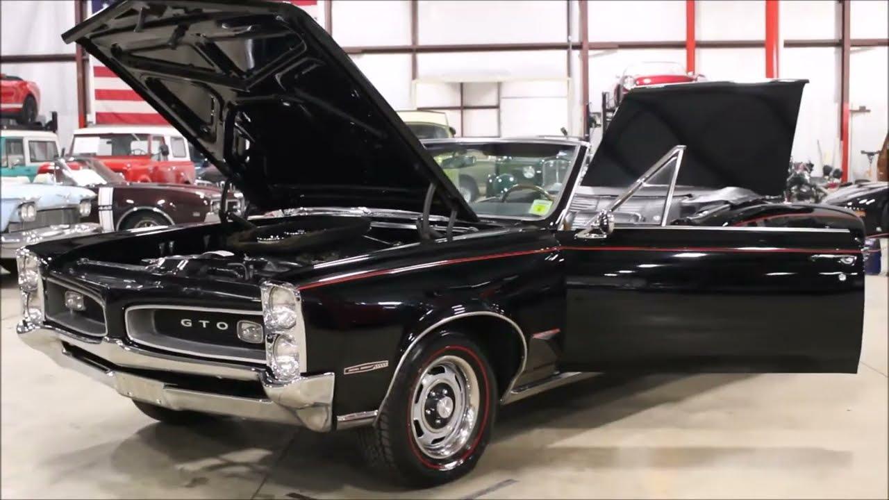 1966 Pontiac GTO Black