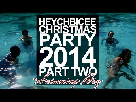 Swimming Day | Heychbicee Christmas Party 2014 Part Two