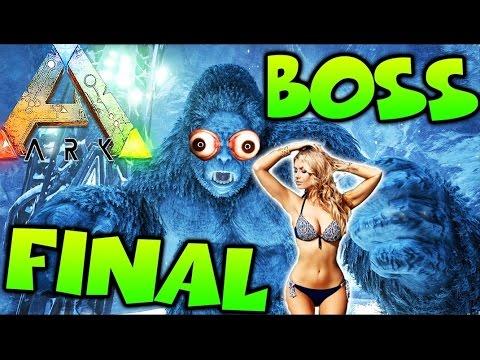 MATANDO A BOSS EN PELOTAS!! FINAL DE TEMPORADA ARK SURVIVAL EVOLVED - Patty Dragona