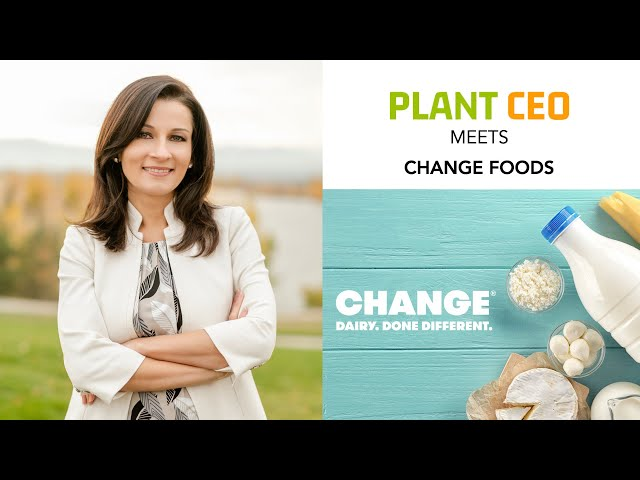 PLANT CEO #34 - Irina Gerry on how food tech is driving the revolution towards a sustainable future