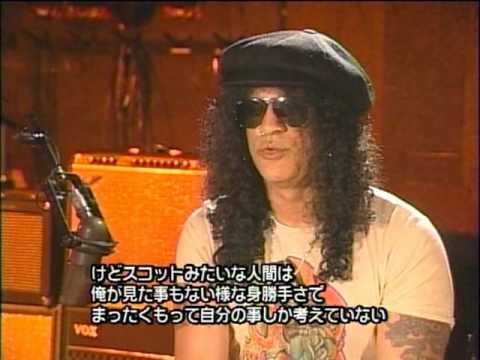SLASH ( Velvet Revolver ) – Interview '09