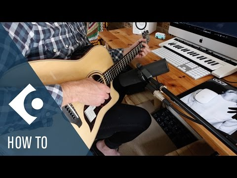 How to Record Audio in Cubase   Getting Started with Cubase Pro 9
