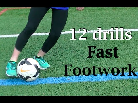 Fast Feet Beginner Soccer Drills