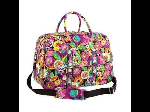 Vera Bradley Grand Traveler Va Va Bloom