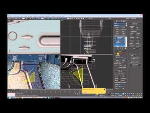 AK47 Weapon Modeling video2 highpoly1
