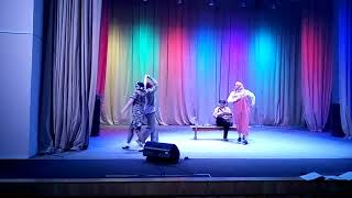 Поздравление ко Дню работников культуры 2018.Красночикойская библиотека, сценка: '' На завалинке ''.