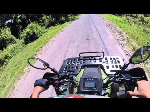 ATV Ride from Tierra Alta to Tejeros in Valencia.