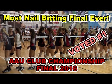 2016 AAU Girls Volleyball National Championship Game 14 Club