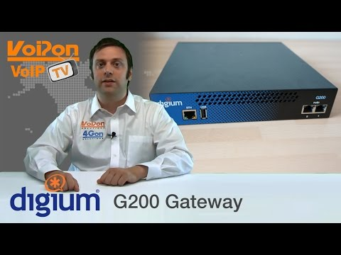 Digium G200 VoIP Gateway Review / Unboxing