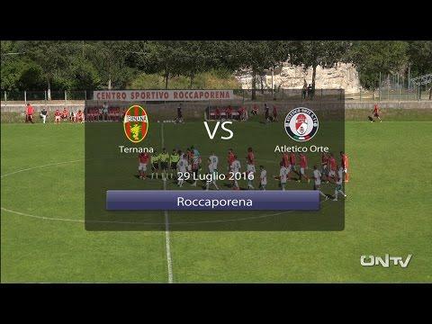 ONTV: 1 tempo TERNANA – ATLETICO ORTE (9-0)