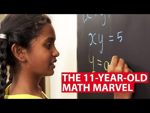 The 11-Year-Old Math