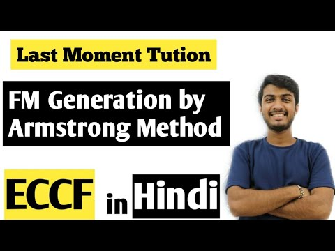 FM Generation By Armstrong Method | ECCF Lectures In Hindi