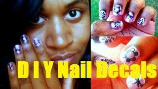 DIY Nail Polish Decals Thumbnail