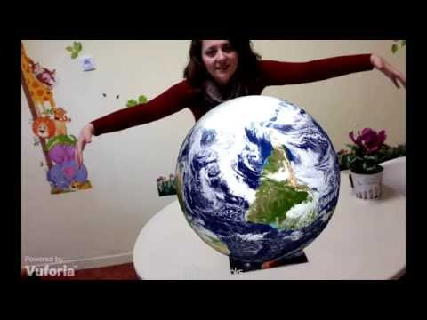 Augmented reality book - 3D Solar System