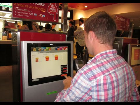McDonald's Replacing Cashiers with Touch-Screen Tablets - Another Idiocracy Prophecy Come True!