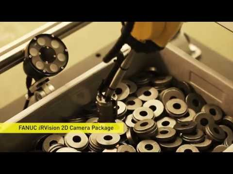 FANUC High Speed Bin Picking with 3D Area Sensor