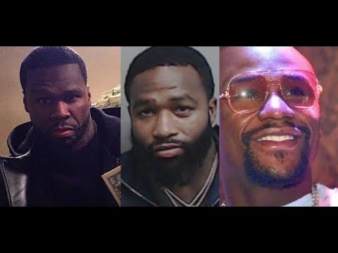 50 Cent VS Floyd Mayweather: ADRIEN BRONER REACTS, 50 Cent WARNS Gervonta of Floyd Hater Ways