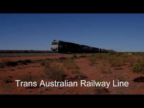 Trans Australian Railway line - South Australia near Kingoonya