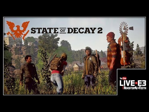 How State of Decay 2 Changes the Formula - YouTube Live at E3