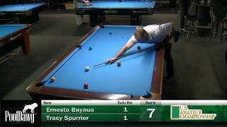 2018 US Amateur Championship - Round 11 - Ernesto Bayaua VS Tracy Spurrier