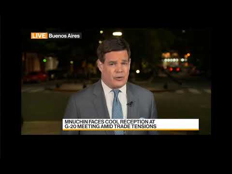 MALPASS TRADE POLICY IN CHINA MNUCHIN ON G20 TRADE POLICY BUENOS AIRES  3- 18 -18 BLOOMBERG NEWS