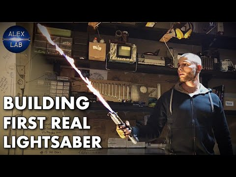 First real lightsaber.