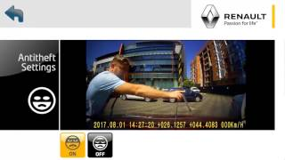 Renault tutorial Dashcam