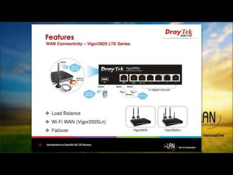 Introduction to DrayTek 4G LTE Routers