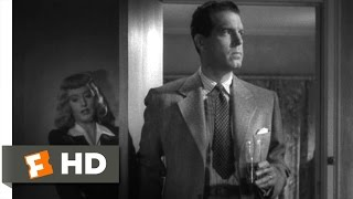 Double Indemnity (5/9) Movie CLIP - Keyes Smells a Murder (1944) HD
