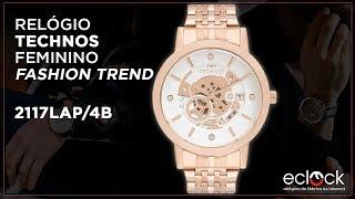 58b9c7898556f Relógio Technos Feminino Fashion Trend 2117LAP 4B - Eclock ...