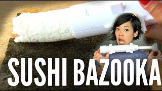 SUSHI BAZOOKA Sushezi sushi maker | Does it Work?