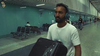 Dinesh Karthik's Arrival in Kolkata | KKR | Kolkata Knight Riders | VIVO IPL 2018