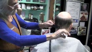 Cutting, Styling, and Placing a Hairpiece