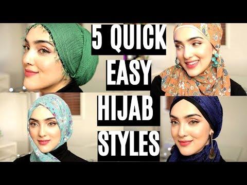 Everyday Simple Hijab/ Shawl Tutorials ~ Immy