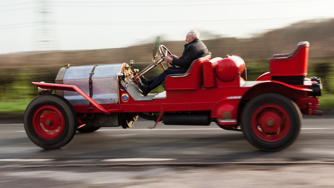 The 99-year-old Car: Engineer Spends 15 Years Restoring His Dream ...