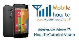 how to set change email notification tone motorola moto g