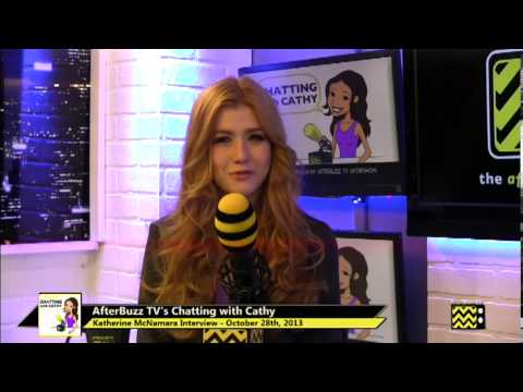 Katherine McNamara Interview | AfterBuzz TV's Chatting with Cathy | October 28th, 2013