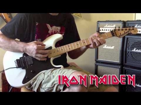 Iron Maiden - Wasted Years Guitar Cover