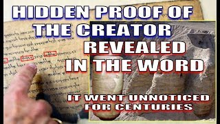 GOD PROVES HIS EXISTENCE WITH A HIDDEN MESSAGE IN THE BIBLE