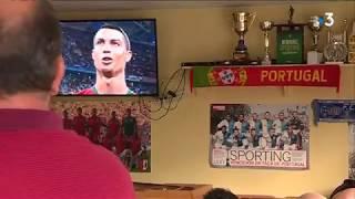 Coupe du monde 2018 : un match rempli d'émotion pour les supporters portugais de Dijon