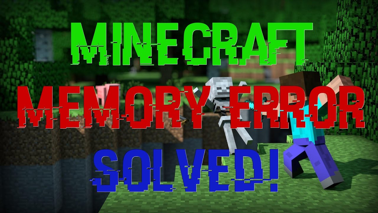 Fix Minecraft 110 Out Of Memory Error Solved Windows And Mac
