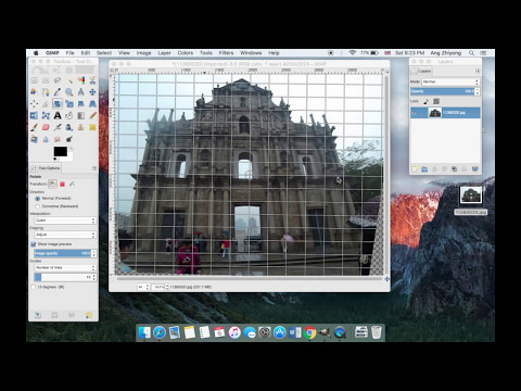 Correcting Fisheye Lens Distortion In GIMP