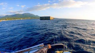 正体不明の超巨大魚に瞬殺された異次元の沖堤防で1年越しのリベンジ【2021夏屋久島編 #2】