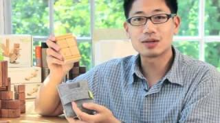 Tegu Pocket Pouch: Travel Size Set Of Magnetic Wooden Blocks