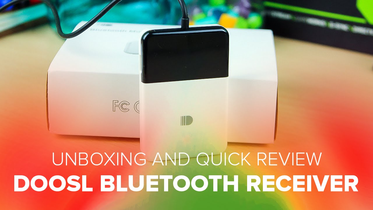 Doosl Bluetooth Receiver (DSER 104) - Unboxing and Review - YouTube