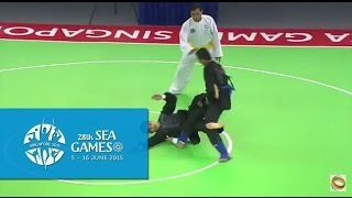 Pencak Silat Tanding Category Vietnam vs Singapore  (Day 6) | 28th SEA Games Singapore 2015