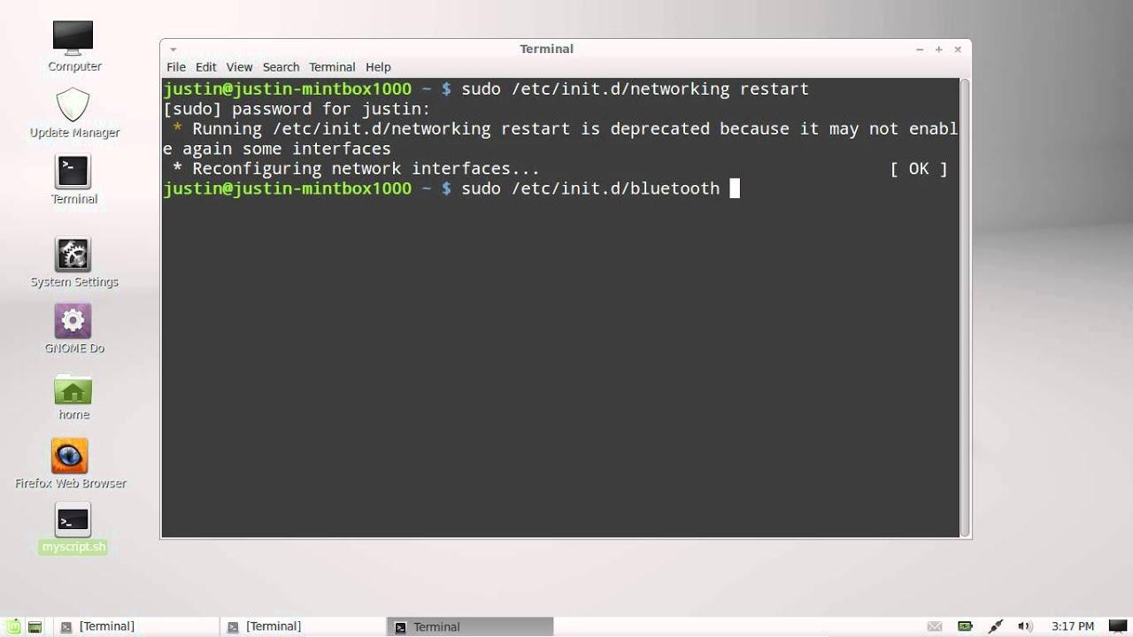 install bluetooth linux mint