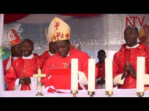 Ex-communicated priest Jacinto Kibuuka consecrated amid protests from the catholic church