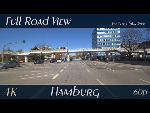Hamburg: Barmbek-Süd, Barmbek-Nord - Hamburger Straße, Barmbeker Markt, Bramfelder Straße - 4K UHD