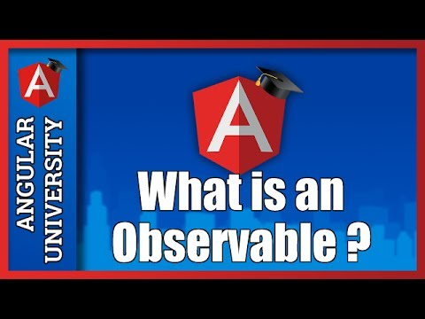 💥 Angular Tutorial - What is an Observable ? Introduction to Streams and RxJs Observables